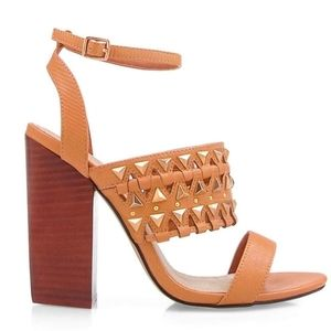 Privileged by J.C. Dossier Studded Sandals NWoT